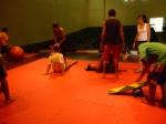 Sob a influência da Oficina Cândido Portinari de Ribeirão Preto o grupo conheceu a arte circense.